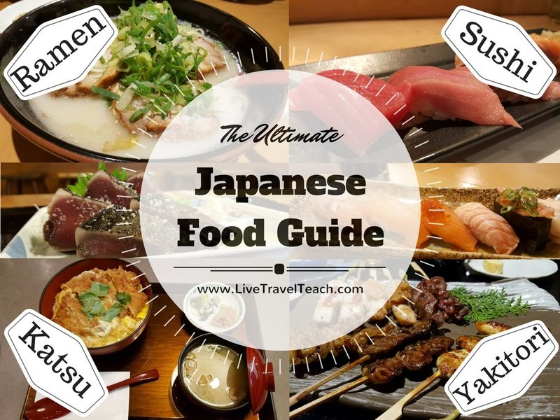 Japanese food guide enjoy traditional japanese food for Authentic japanese cuisine
